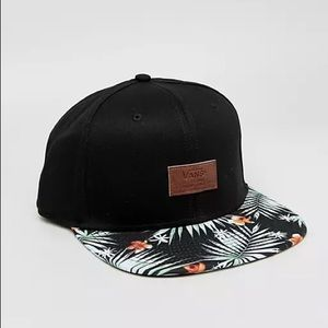 Vans Cap * Brand New* ALL OVER IT Snapback hat